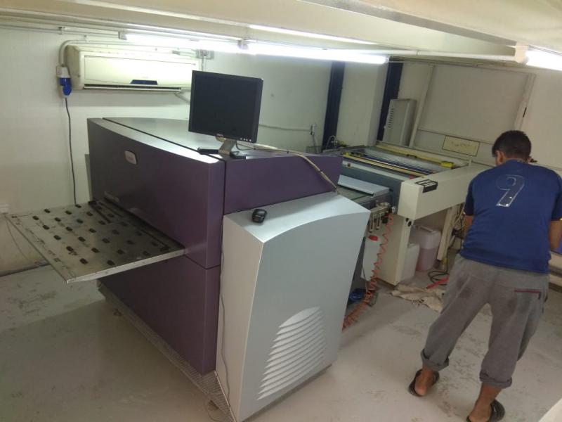 ماكينة فرز بليتات CTP قياس 50*70